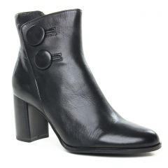 boots-confort noir: même style de chaussures en ligne pour femmes que les Tamaris