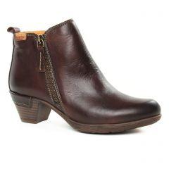 low-boots marron bordeaux: même style de chaussures en ligne pour femmes que les Regarde Le Ciel