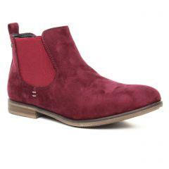 boots-chelsea bordeaux: même style de chaussures en ligne pour femmes que les Remonte