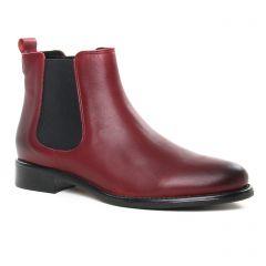 boots-chelsea bordeaux: même style de chaussures en ligne pour femmes que les Scarlatine