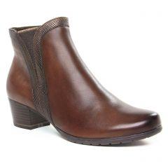 Chaussures femme hiver 2019 - boots élastiquées marco tozzi marron foncé