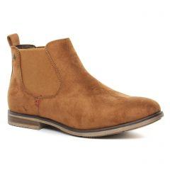 Chaussures femme hiver 2019 - boots élastiquées rieker marron