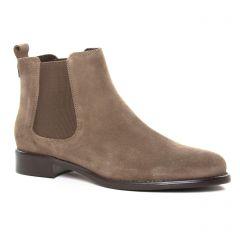 boots-chelsea marron: même style de chaussures en ligne pour femmes que les Émilie Karston