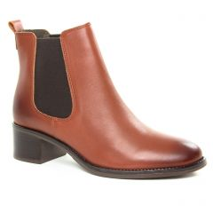 boots-chelsea marron: même style de chaussures en ligne pour femmes que les Marco Tozzi