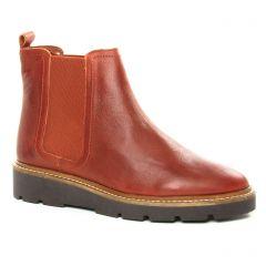 Chaussures femme hiver 2019 - boots élastiquées Scarlatine marron