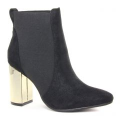 boots-chelsea noir doré: même style de chaussures en ligne pour femmes que les Marco Tozzi