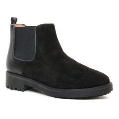 Chaussures femme hiver 2019 - boots élastiquées Émilie Karston noir