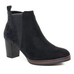 boots-chelsea noir: même style de chaussures en ligne pour femmes que les Émilie Karston