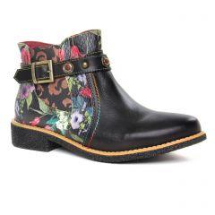 boots-chelsea noir multi: même style de chaussures en ligne pour femmes que les Scarlatine