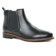 Chaussures femme hiver 2019 - boots élastiquées Scarlatine noir