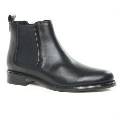 boots-chelsea noir mat: même style de chaussures en ligne pour femmes que les Scarlatine