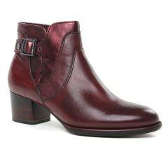 boots-jodhpur bordeaux: même style de chaussures en ligne pour femmes que les Tamaris
