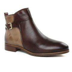 boots-jodhpur marron beige: même style de chaussures en ligne pour femmes que les Pikolinos