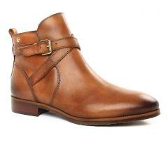 Chaussures femme hiver 2019 - boots Jodhpur Pikolinos marron