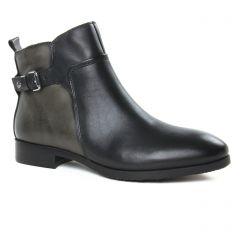 Chaussures femme hiver 2019 - boots Jodhpur Pikolinos noir gris