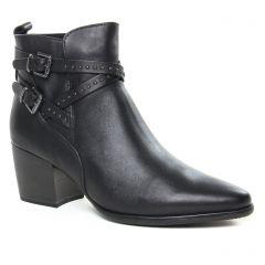 Chaussures femme hiver 2019 - boots Jodhpur marco tozzi noir