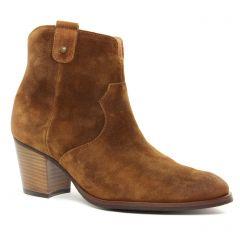 Chaussures femme hiver 2019 - boots Émilie Karston marron