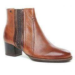 boots marron: même style de chaussures en ligne pour femmes que les Caprice