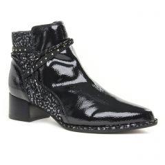 Chaussures femme hiver 2019 - boots fugitive noir argent