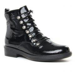 Chaussures femme hiver 2019 - bottines à lacets Remonte noir