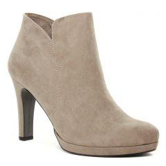 boots-talon beige: même style de chaussures en ligne pour femmes que les Tamaris