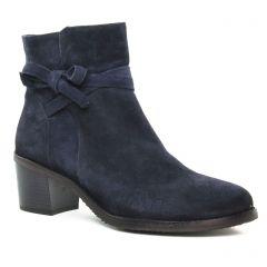 Chaussures femme hiver 2019 - boots talon Dorking bleu marine