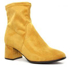 boots-talon jaune: même style de chaussures en ligne pour femmes que les Dorking