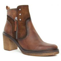 boots-talon marron: même style de chaussures en ligne pour femmes que les Remonte