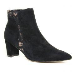 boots-talon noir doré: même style de chaussures en ligne pour femmes que les Fugitive
