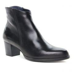 Chaussures femme hiver 2019 - boots talon Dorking noir