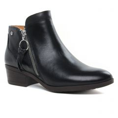 Chaussures femme hiver 2019 - low boots Pikolinos noir