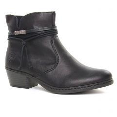 Rieker 75555-00 Schwarz : chaussures dans la même tendance femme (boots-talon noir) et disponibles à la vente en ligne