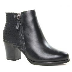 boots-talon noir: même style de chaussures en ligne pour femmes que les Tamaris