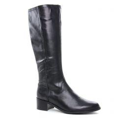 bottes-cavalieres noir: même style de chaussures en ligne pour femmes que les Émilie Karston