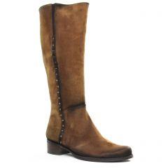 bottes marron: même style de chaussures en ligne pour femmes que les Rieker