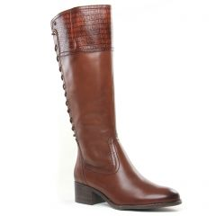 bottes marron: même style de chaussures en ligne pour femmes que les Marco Tozzi