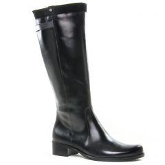 Chaussures femme hiver 2019 - bottes cavalières Dorking noir
