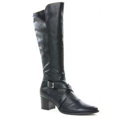 bottes noir: même style de chaussures en ligne pour femmes que les Émilie Karston