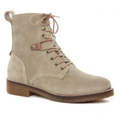 bottines-a-lacets beige: même style de chaussures en ligne pour femmes que les Scarlatine