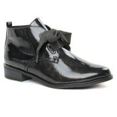 Chaussures femme hiver 2019 - bottines à lacets marco tozzi gris foncé