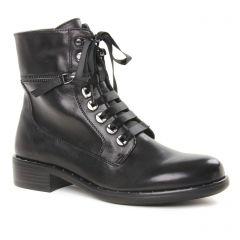 Chaussures femme hiver 2019 - bottines à lacets Regarde le ciel noir