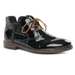 bottines-a-lacets noir vernis: même style de chaussures en ligne pour femmes que les Dorking