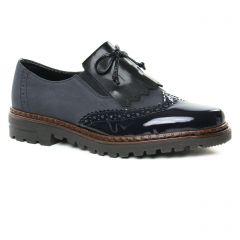 derbys bleu marine: même style de chaussures en ligne pour femmes que les Émilie Karston