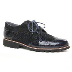 derbys bleu or: même style de chaussures en ligne pour femmes que les Marco Tozzi