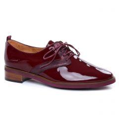 derbys bordeaux: même style de chaussures en ligne pour femmes que les Émilie Karston