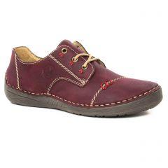 derbys bordeaux: même style de chaussures en ligne pour femmes que les Scarlatine