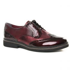 derbys bordeaux: même style de chaussures en ligne pour femmes que les Remonte