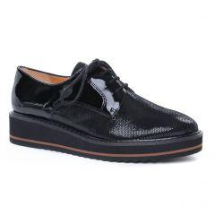 Chaussures femme hiver 2019 - derbys compensées Émilie Karston noir