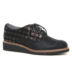 derbys-talons-compenses noir or: même style de chaussures en ligne pour femmes que les Tamaris