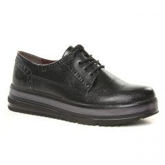 derbys-talons-compenses noir: même style de chaussures en ligne pour femmes que les Pintodiblu